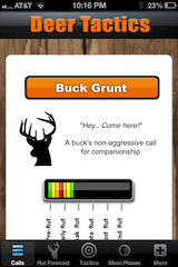 deer call app for iphone